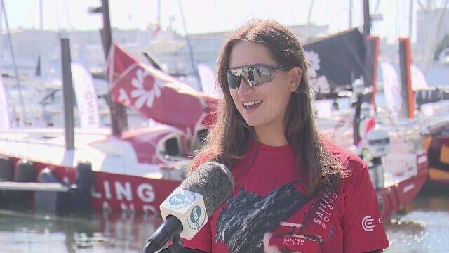 Magdalena Kwaśna z załogi Sailing Poland: momentami jest strach