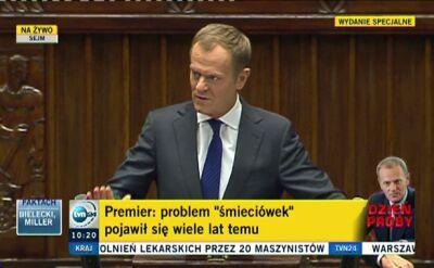 """Premier: Nie będzie ozusowania """"umów śmieciowych"""""""