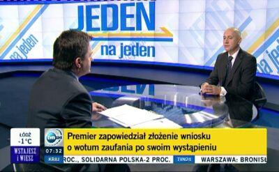 Brudziński: Tusk stracił poparcie społeczne