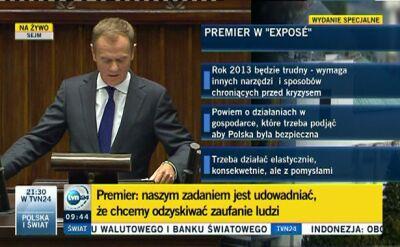 Premier o tym, co udało się zrobić przez ostatni rok