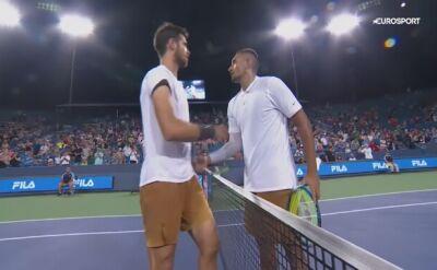 Skrót meczu Kyrgios - Chaczanow w drugiej rundzie turnieju ATP w Cincinnati