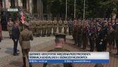 Komandor Piotr Nieć odbiera nominację na stopień kontradmirała. Katowice, sierpień 2019 r.