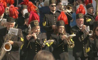 Koniec defilady z okazji Święta Wojska Polskiego w Katowicach