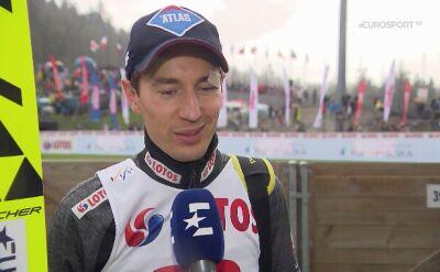 Kamil Stoch ocenił kwalifikacyjny występ w Zakopanem