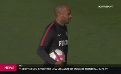 Henry trenerem Montreal Impact