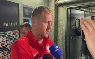 Kamil Glik podsumował mecz z Izraelem w Jerozolimie