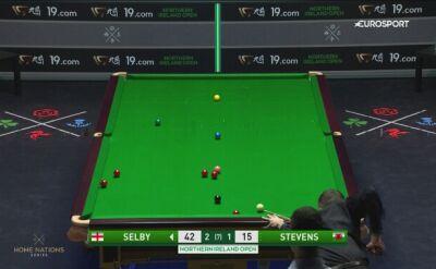 Świetne wbicie Selby'ego w 2. rundzie Northern Ireland Open