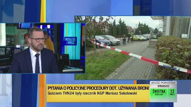 Mariusz Sokołowski tłumaczy policyjne procedury