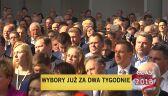 Kaczyński na konwencji na Podkarpaciu