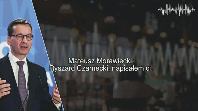 Ryszard Czarnecki tłumaczy syna