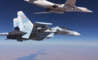Rosyjskie samoloty bombardują Syrię
