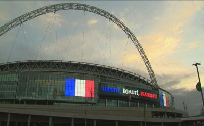 Wembley we francuskich barwach