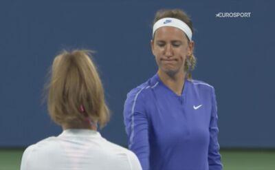Skrót meczu Wiktoria Azarenka - Karolina Muchova w 4. rundzie US Open