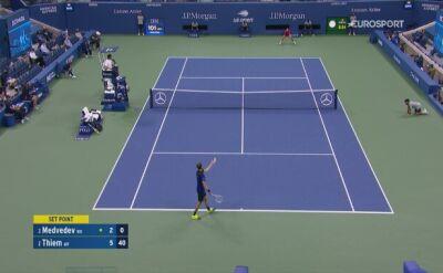 Skrót meczu Daniił Miedwiediew - Dominic Thiem w półfinale US Open