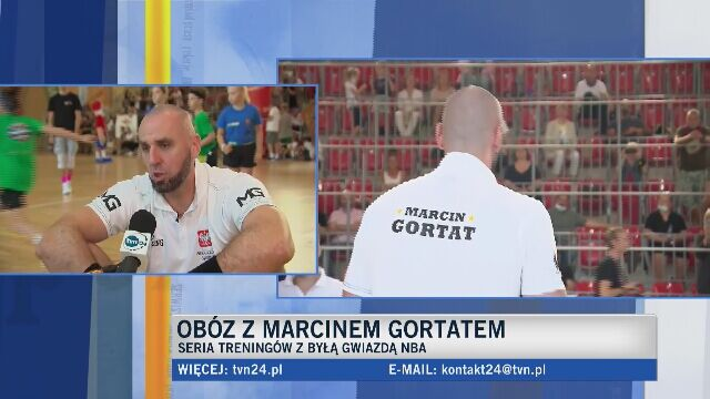Marcin Gortat: myślę, że dzieciaki wychodzą z campów szczęśliwe