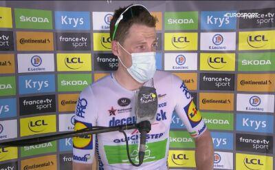 Rozmowa z Samem Bennettem po 10. etapie Tour de France