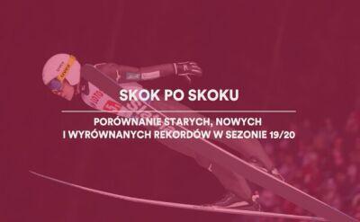 Nowe i wyrównane rekordy w skokach narciarskich w sezonie 2019/2020