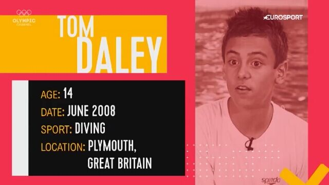 Tom Daley do Pekinu leciał po naukę