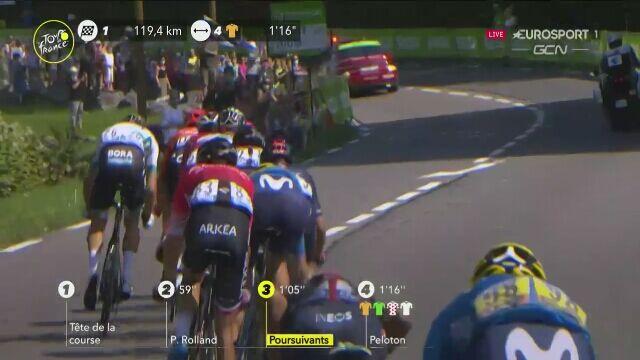 Trentin wygrał lotną premię na 16. etapie Tour de France