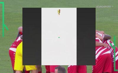 Skrót meczu Wurzburger Kickers - Hannover 96 w 1. rundzie Pucharu Niemiec