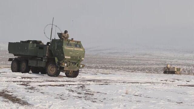 Ćwiczenia wojska USA z systemami HIMARS