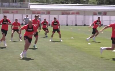 Kamil Glik trenował z kolegami