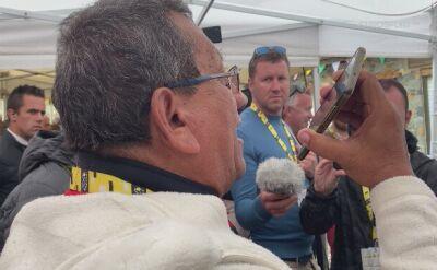 Bernal bliski wygranej, szaleństwo dziennikarza z Kolumbii