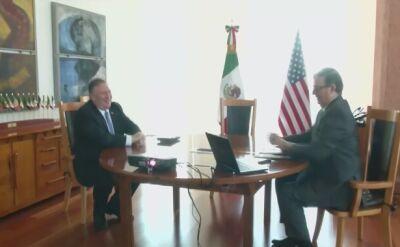 Mike Pompeo w Meksyku