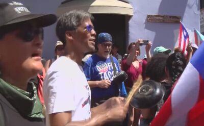 Portorykańczycy chcą ustąpienia Ricardo Rossello