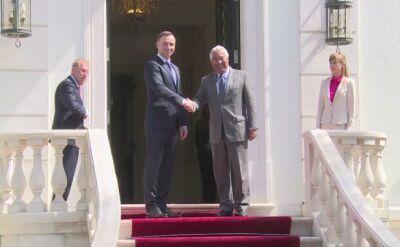 Prezydent Duda i premier Portugalii w Lizbonie