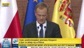 Tusk: Nie będę wyciągał konsekwencji wobec polityków za niecenzuralne wypowiedzi