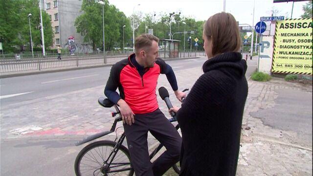 Sędzia wjeżdża w rowerzystę, prokuratura umarza postępowanie
