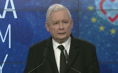 Kaczyński: nie uznajemy, że sprawa władzy w Polsce została rozstrzygnięta