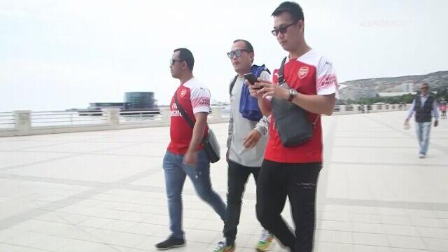 Mchitarjana nie ma w Baku, ale są jego fani