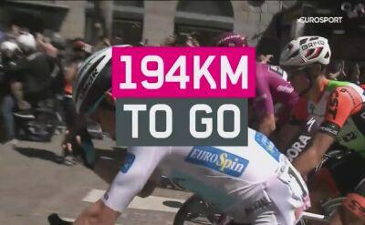 Najważniejsze wydarzenia 20. etapu Giro d'Italia