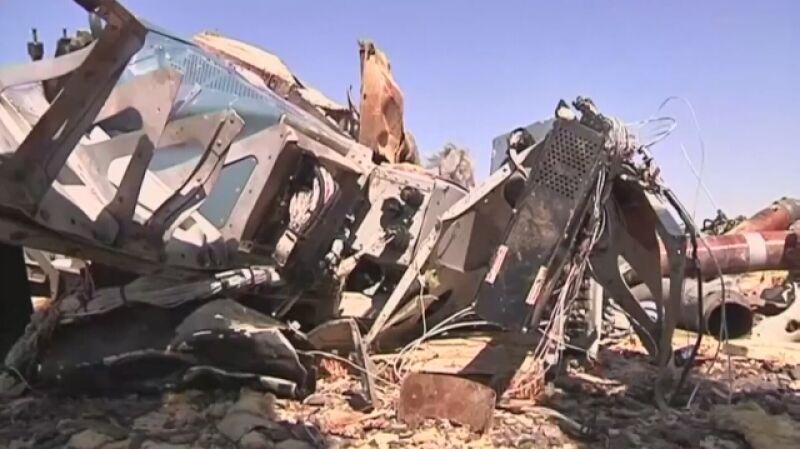 Samolot z rosyjskimi turystami spadł na pustynię