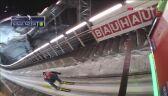 Pierwszy skok Kamila Stocha w niedzielnym konkursie w Niżnym Tagile