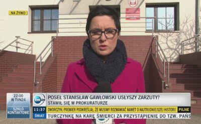 Gawłowski zgłosił się do prokuratury z mecenasem Giertychem