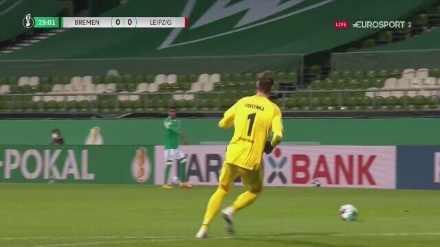 Niewykorzystana szansa Werderu Brema w półfinale Pucharu Niemiec z RB Lipsk