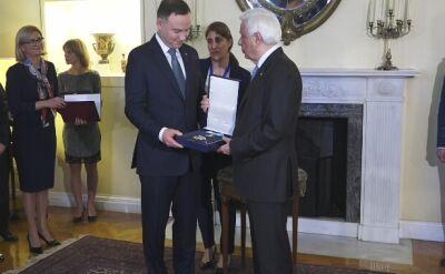 Andrzej Duda odznaczony orderem w Grecji
