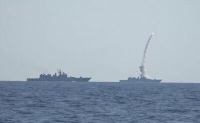Rosjanie ostrzelali cele w prowincji Hama pociskami Kalibr