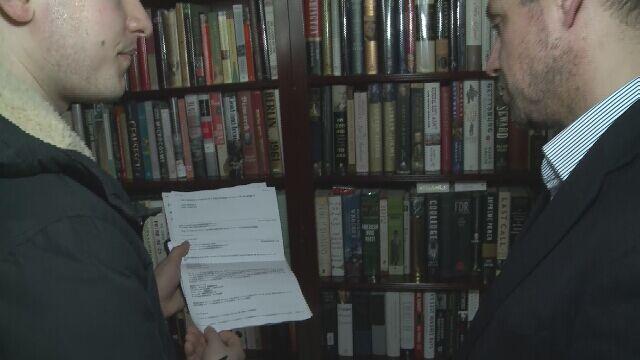 Korespondencja z podejrzanym adresem