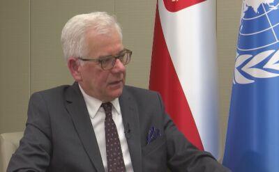 Szef MSZ spotka się z Timmermanem: chcę pokazać otwartość