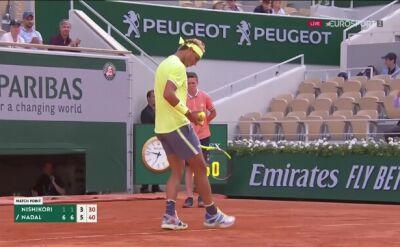 Pokaz siły! Nadal awansował do półfinału Roland Garros