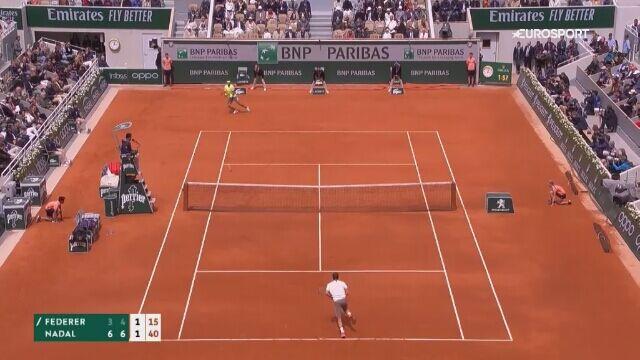 Frustracja Federera. Wystrzelił piłkę w trybuny