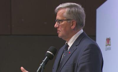 Bronisław Komorowski: wybory czerwcowe to był polityczny nokaut