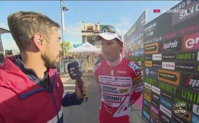 Masnada po 6. etapie Giro d'Italia