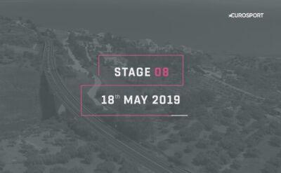 Profil 8. etapu Giro d'Italia