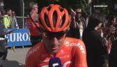 Łukasz Owsian po 7. etapie Giro d'Italia