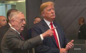 Donald Trump na szczycie NATO w Brukseli